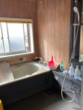 静岡市T様お風呂リフォームビフォー写真
